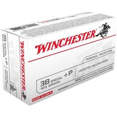 Winchester Best Value JHP 38 Special