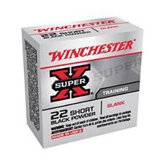 Winchester CART 22S SUPX BLKPWD BLANK