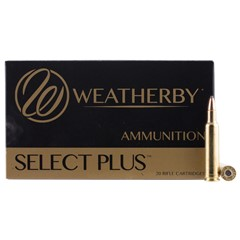 Weatherby Partition Select Plus .257 Wby. mag