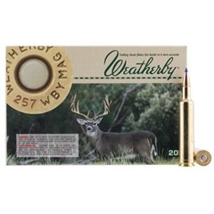 Weatherby Tipped Triple Shock XBullet .257 Wby.Mag