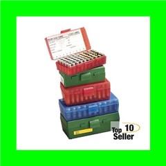 MTM P504410 Case-Gard P-50 44 Spl,44 Mag,45 Colt (LC) 50rd Green