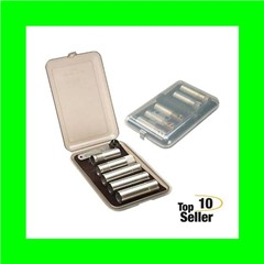 MTM CT641 Choke Tube Case 6 Extended Tubes Poly Clear Smoke
