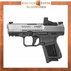"""Canik TP9 Elite Subcompact with Red Dot 9mm Luger 3.60"""" 15+1, HG5610TV-N"""