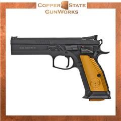 "CZ-USA CZ 75 Tactical Sport 40 S&W 5.40"" 17+1 Black Black Steel Slide 91260"