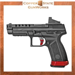 "Girsan MC9 9mm Luger 4.63"" 17+1 Black Blued Steel Slide Black 390355"