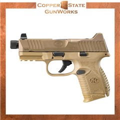 """FN 509 Compact Tactical 9mm Luger 4.32"""" 24+1,12+1 Flat Dark Earth 66-100780"""