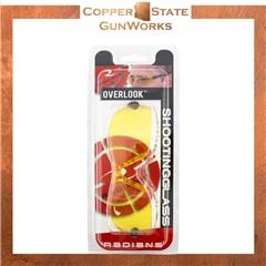 Radians OV6-40CS Overlook Glasses Amber Lens Black Frame OV1-40CS