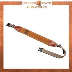 Hornady Universal Brown Nylon/Leather Rifle W/Swivels 99107