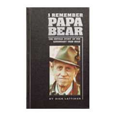I Remember  PAPA BEAR