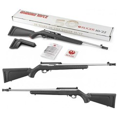 RUGER 10/22 50TH ANNIV 22LR SS/SY | 18.5 11173