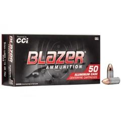 CCI/Speer Blazer, 9MM, 115 Grain, Full Metal 3509